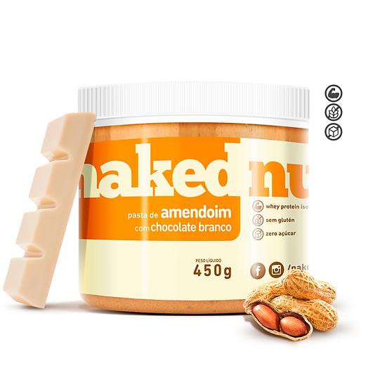 Pasta de Amendoim com Chocolate Branco - Naked Nuts - 450g