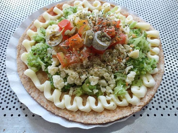 Mini pizza integral de brócolis, requeijão e mussarela - 140g