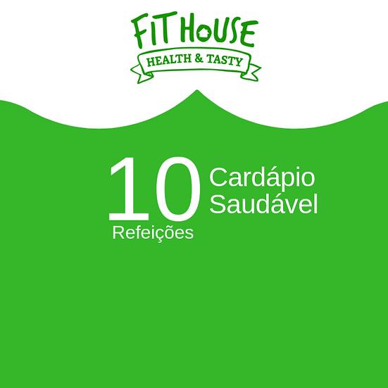 Cardápio Saudável - 10 refeições