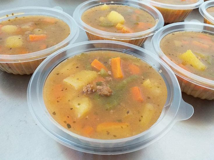 Sopa de legumes - 300g