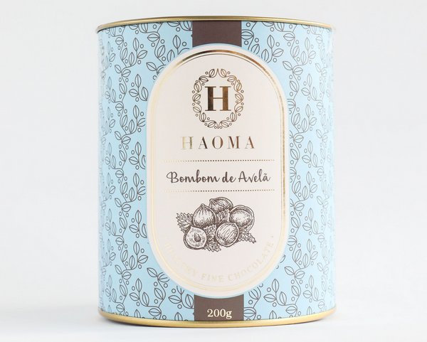 Bombom de Chocolate Belga - Avelã - 200g
