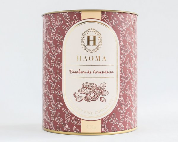 Bombom de Chocolate Belga - Amendoim - 200g