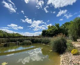 Recreación de las Lagunas de Ruidera