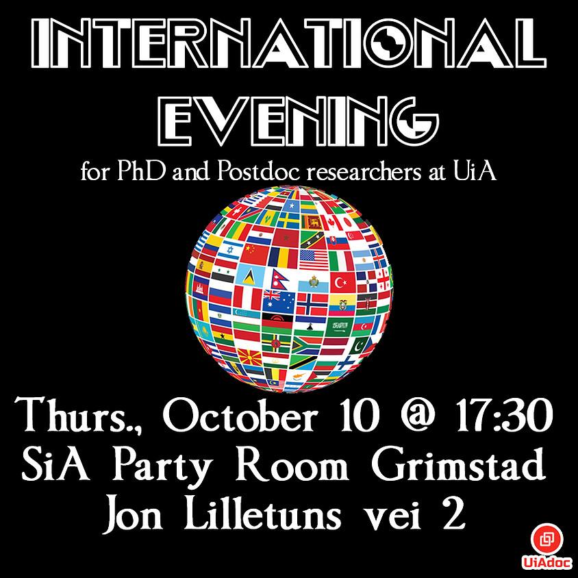 Grimstad: International Evening!