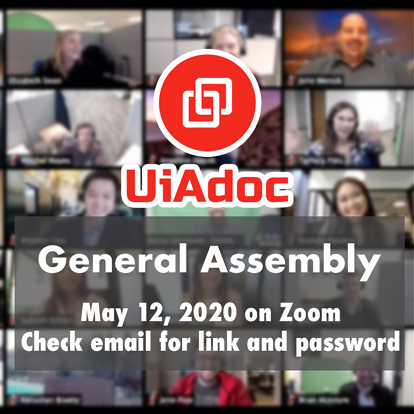 UiAdoc General Assembly 2020 (Zoom)