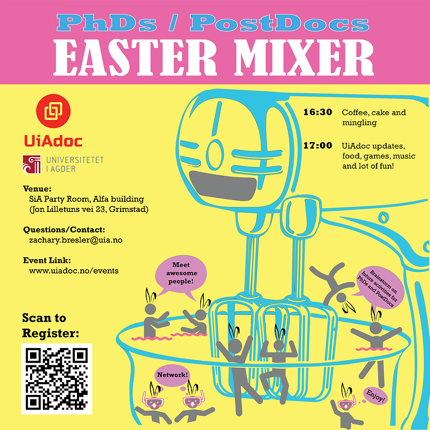 CANCELLED- UiAdoc Easter Mixer