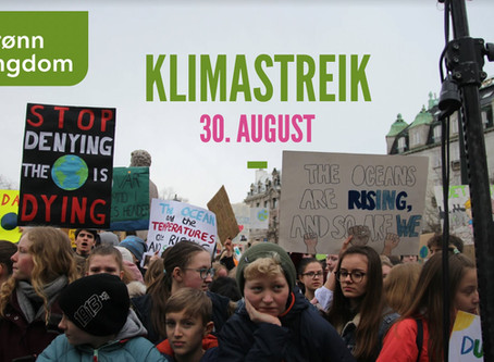 Join the Climate Strike in Kristiansand!