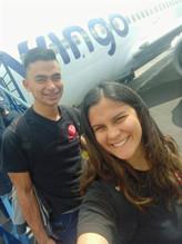 Llegando a Bogotá