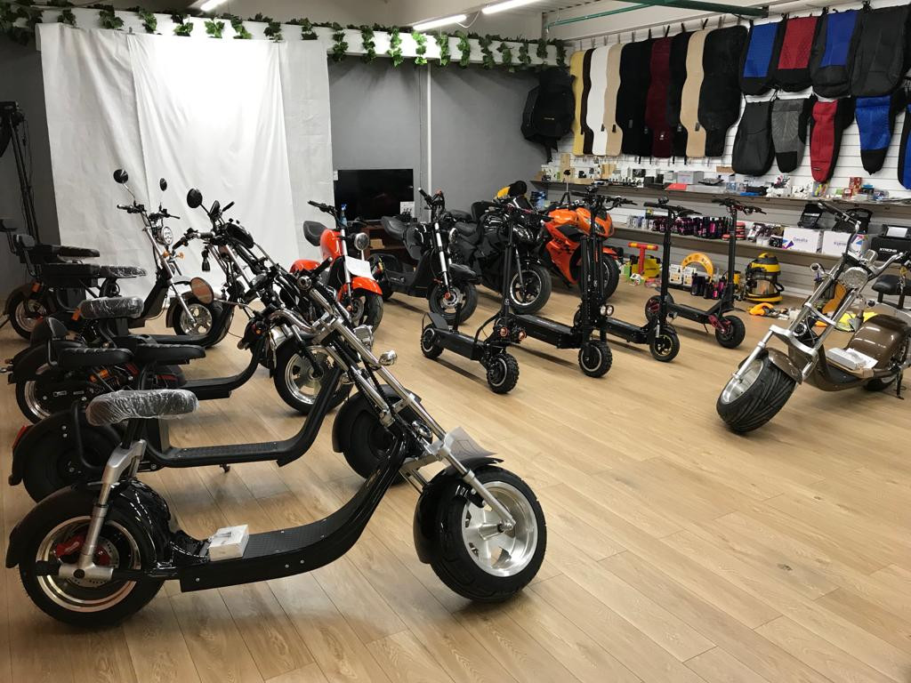 Шоу-рум CitycocoScooter
