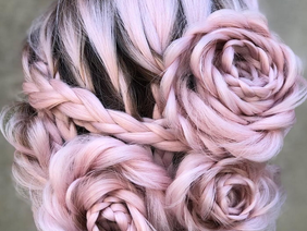 Braided Rose Hairstyle!