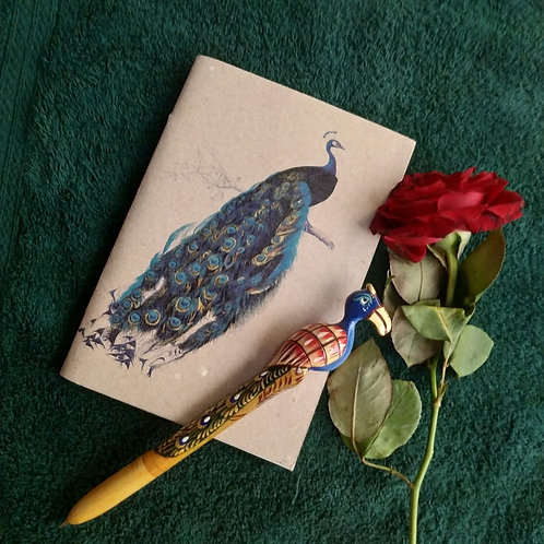 HMP Peacock Note Book & HMP Peacock Note Book