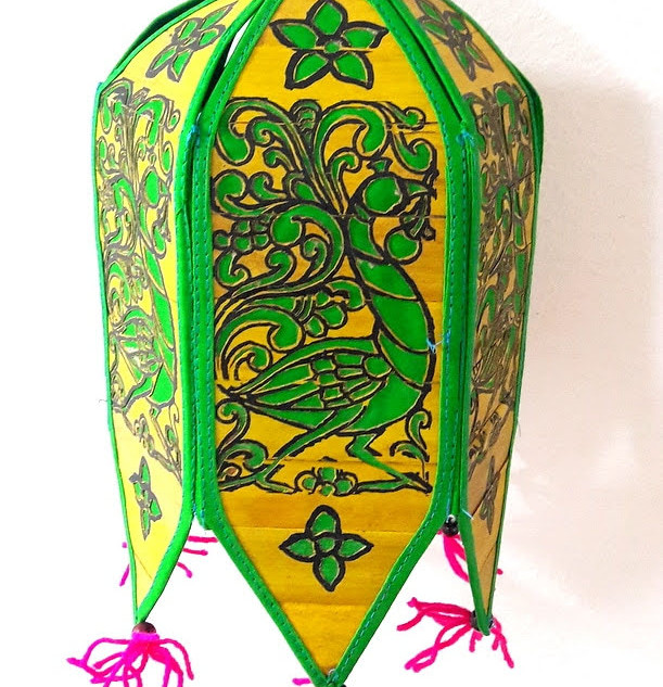 Palm Leaf Lampshade
