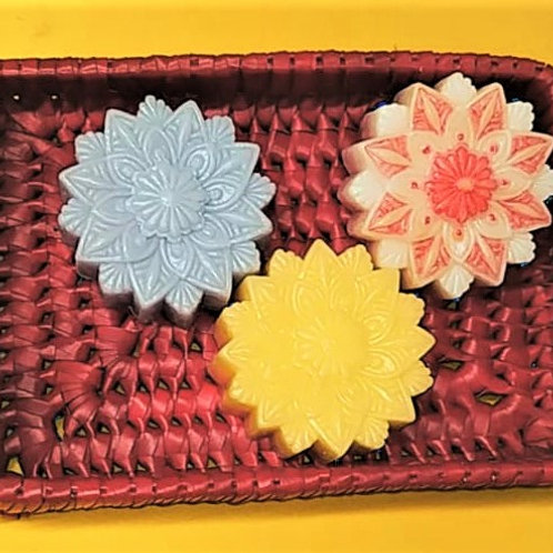 HANDMADE PREMIUM SOAPS (Mandala) - Each