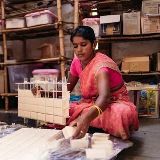 Handmade soap making