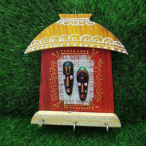 Terracotta Ganesha Key Holder