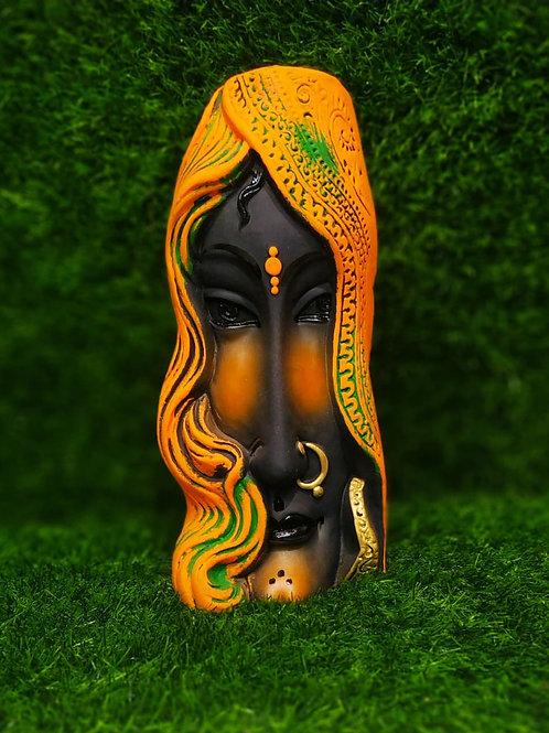 Vase Side Face Liza
