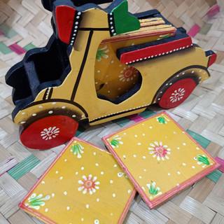 Tikuli Art coaster