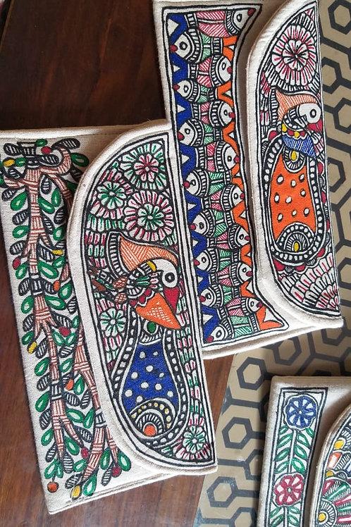 Madhubani Art Pouch
