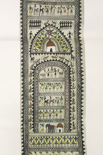 Pattachitra And Saura Painting Tribal Life