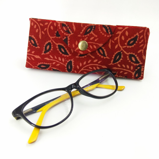 Handmade paper eyeglass case