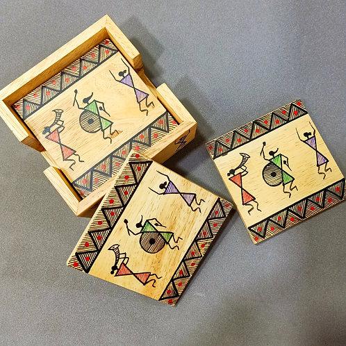 Warli Tea coasters