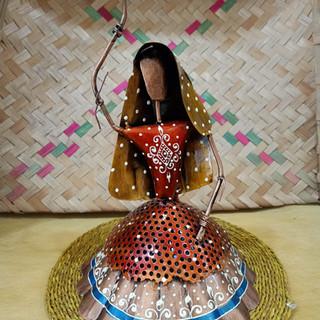 Wrought Iron Dancing Woman