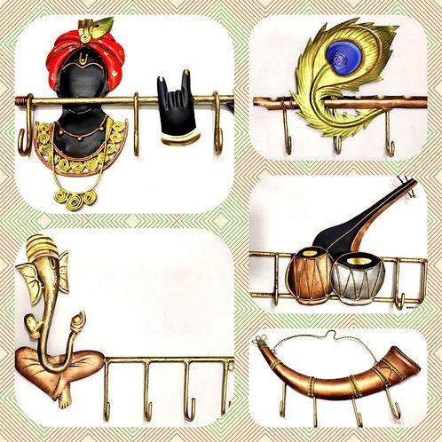 Wrought  iron Keyholders