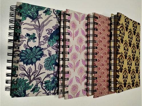 "Handmade Paper Diaries (7x5"")"