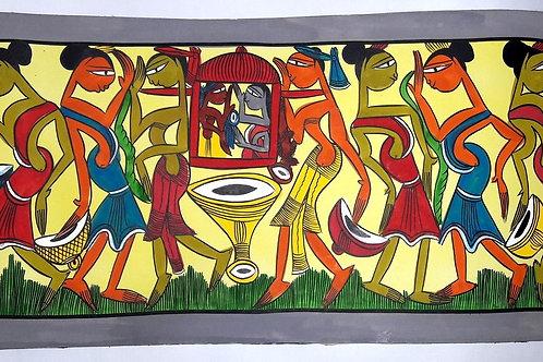 Santhal Painting Wedding Doli 3