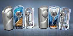 Waterpik  |  Showerhead packaging