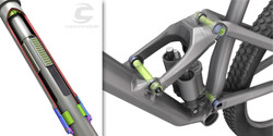 Cannondale |  technical illustration