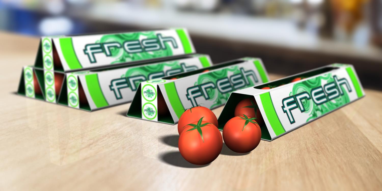 Fresh     tomato snack packaging
