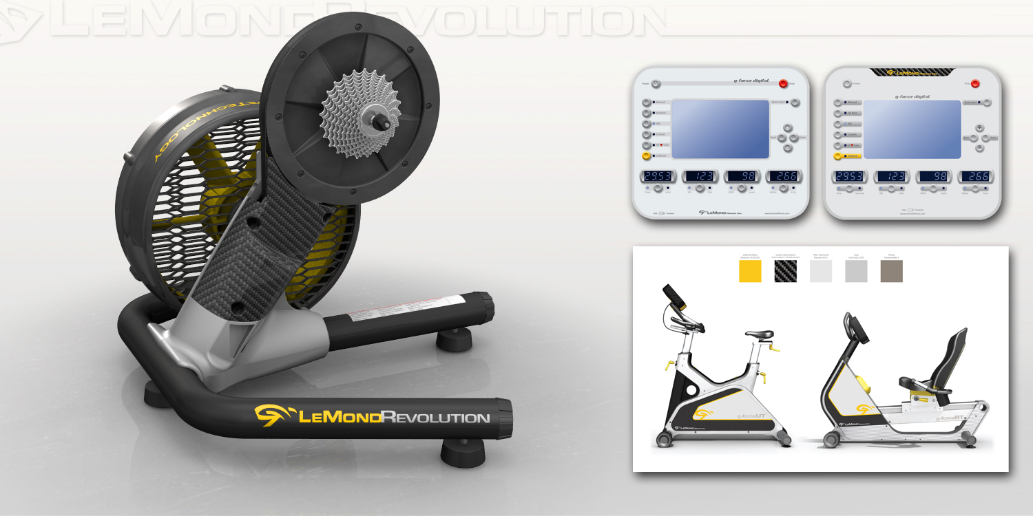 LeMond Fitness  |  graphics