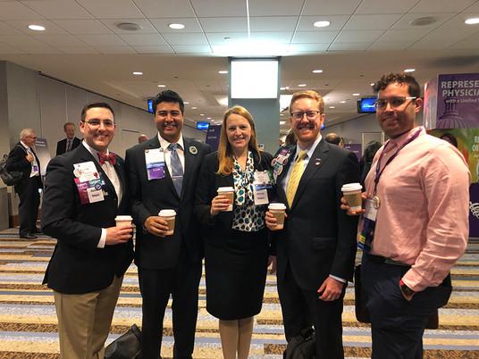 Three Big YPS Wins at November AMA Meeting