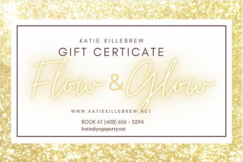 Flow & Glow Gift Certificate