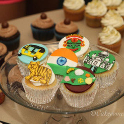 #cupcakes #njcakes #south Brunswick #fondantcake #auto #india #southindianfood  #tajmahal  #kathakal