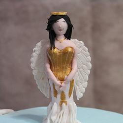 #nj #southbrunswick #fondant #birthdaygirl #birthdaycake #birthdayoutfit #cakes #sweet16cake #angels