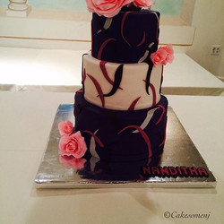 #birthdaycake #customcakes #nj #southbrunswick #weddingcake #weddingcakesnj #weddingcakes #fondantca