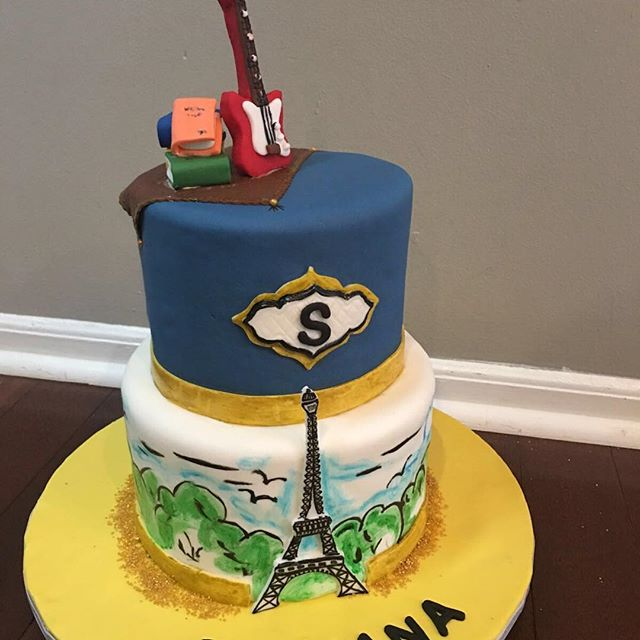 #cakes #birthdaycakes #birthdaycake #njcakes #southbrunswick #fondantcake #birthdaygirl #sweet16 #sw