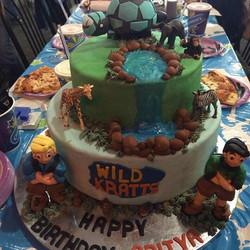 #cakes #njcakes #nj #southbrunswick #customcakes #wildkrattscake #birthdaycake
