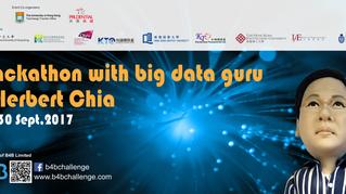 Hackathon with former VP of Alibaba Group, Herbert Chia 車品覺