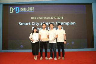 B4B Challenge 2017-2018 Champions
