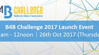 B4B Challenge 2017 Launch Event