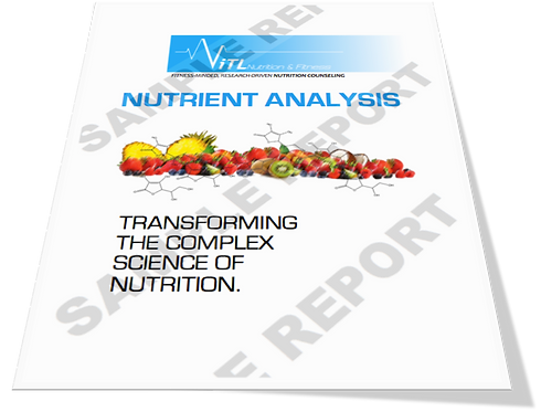 Nutrient Analysis