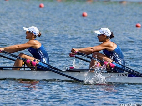 Scholarship, spot on Team USA earned after U23 rower improved body composition & splits.