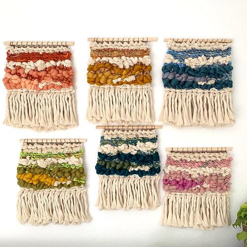 Spring Garden Weavings