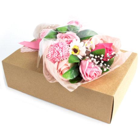 Boxed Soap Flower Bouquet