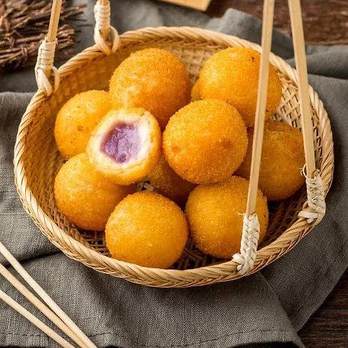 Taro sweet rice ball bag