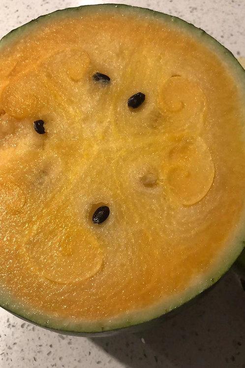 Yellow water melon each