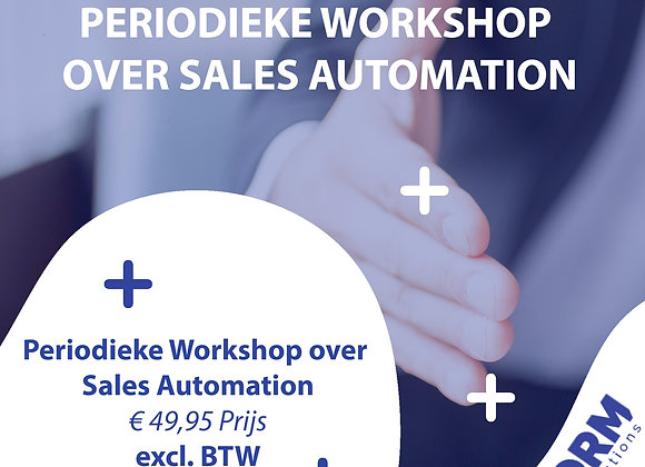 Periodieke Workshop over Sales Automation